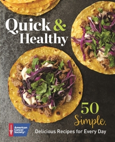 Quick and Healthy Cookbook Cover
