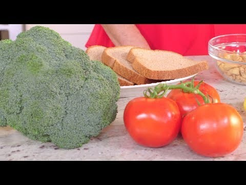 "screenshot from the video, ""Caregiver Series: Healthy Eating"""
